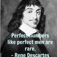 Perfect Numbers Like Perfect Men Are Rare