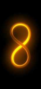 Number 8 Infinity symbol