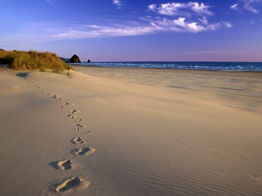 footprints-in-the-sand-ocean