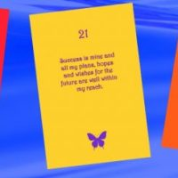 Numerology Affirmation Cards